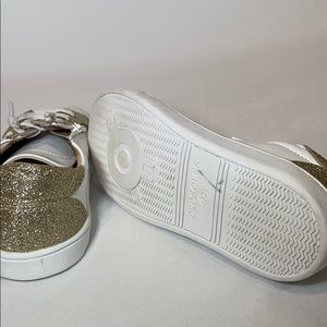 OLDSOLES Shoes - OLDSOLES girls Glamfull Leather Sneakers, 32 EU